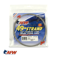 AFW 49-Strand Stainless Wire Silver [30ft]