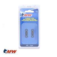AFW SS Ball-Bearing Swivels #5 | 335lb [2pk]