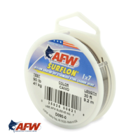 AFW Surflon 1x7 Nylon-Coated Wire Camo [30ft]