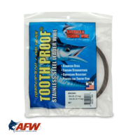 AFW Tooth Proof Single Strand Wire #7 | 69lb [1/4lb]