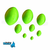 FULL SCALE Glow Egg Sinkers [GREEN]